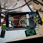 Soldering station - during building