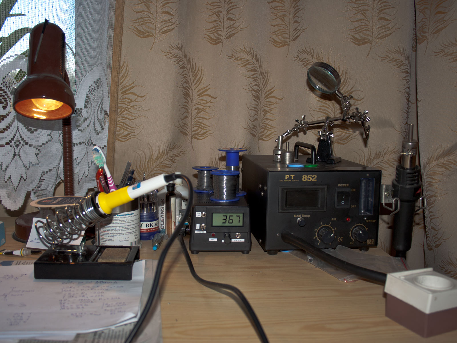 Soldering station - with its big brother