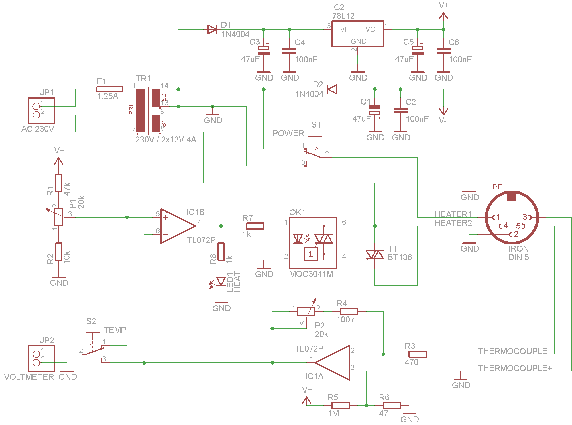 My Soldering Station Low Level Fun Drill Wiring Diagram Schematic